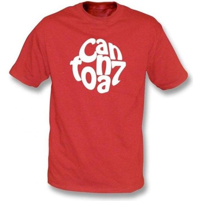Eric Cantona Logo T-shirt