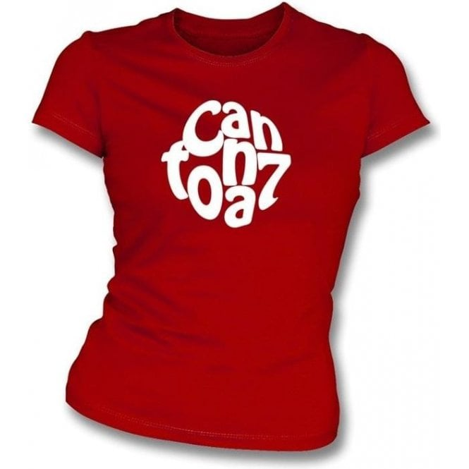 Eric Cantona Logo Women's Slim Fit T-shirt