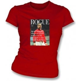 Eric Cantona Rogue Womens Slimfit T-shirt