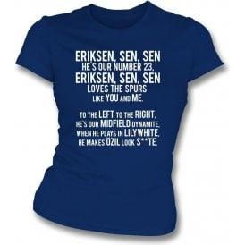 Eriksen-sen-sen (Tottenham Hotspur) Womens Slim Fit T-Shirt