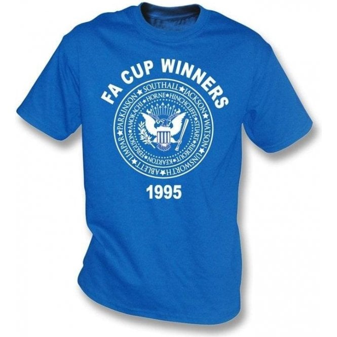 Everton FA Cup Winners 1995(Ramones style) t-shirt