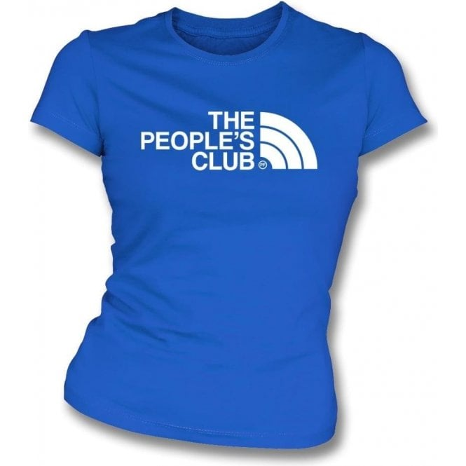 Everton - The People's Club Womens Slim Fit T-Shirt