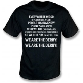 Everywhere We Go (Derby County) Kids T-Shirt