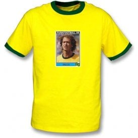 Falco 1986 (Brazil) Yellow Ringer T-Shirt