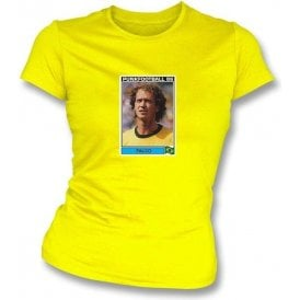 Falco 1986 (Brazil) Yellow Women's Slimfit T-Shirt