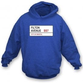 Filton Avenue BS7 Hooded Sweatshirt (Bristol Rovers)