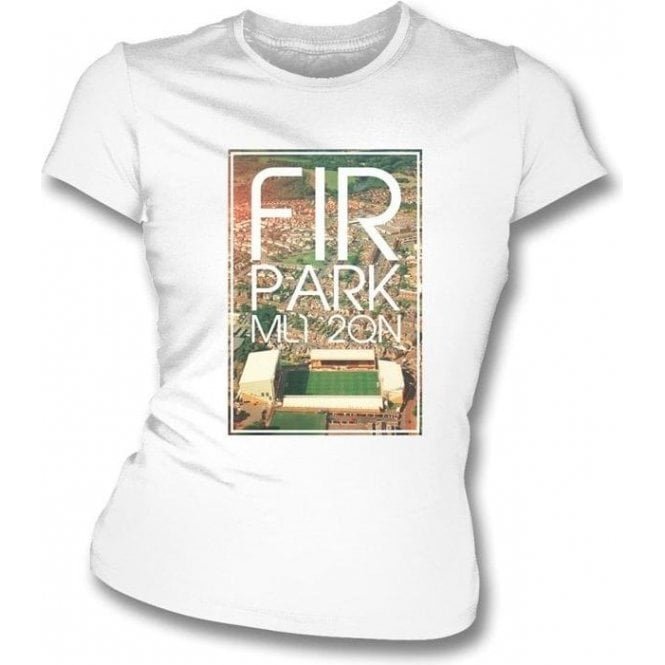 Fir Park ML1 2QN (Motherwell) Women's Slimfit T-Shirt