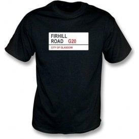 Firhill Road G20 T-Shirt (Partick)