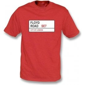 Floyd Road SE7 T-Shirt (Charlton)