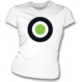 Forest Green Rovers Classic Mod Target Womens Slim Fit T-Shirt