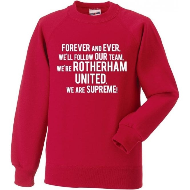 Forever And Ever Sweatshirt (Rotherham United)