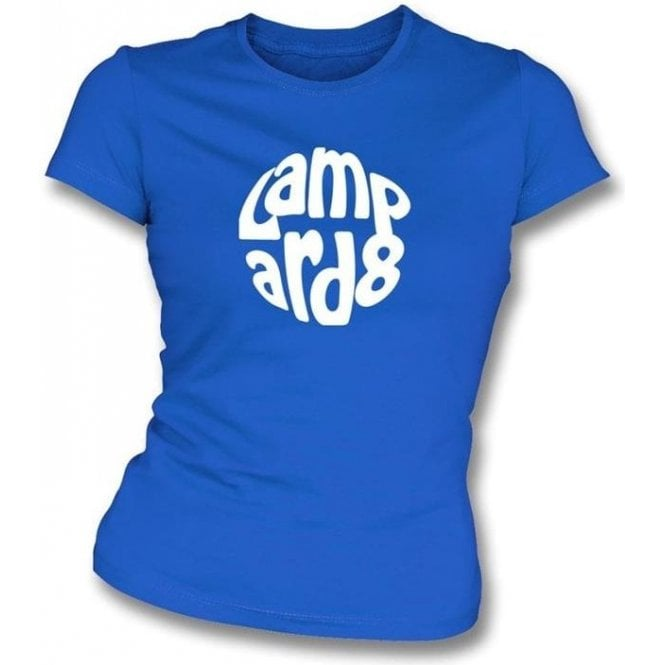 Frank Lampard Logo Women's Slim Fit T-shirt