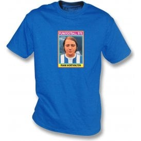 Frank Worthington 1970 (Huddersfield Town) Royal Blue T-Shirt