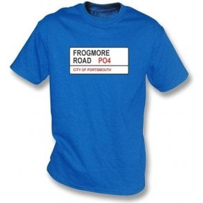 Frogmore Road PO4 T-Shirt (Portsmouth)