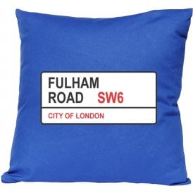 Fulham Road SW6 (Chelsea) Cushion