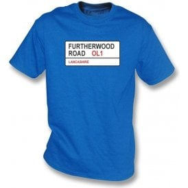 Furtherwood Road OL1 T-Shirt (Oldham Athletic)