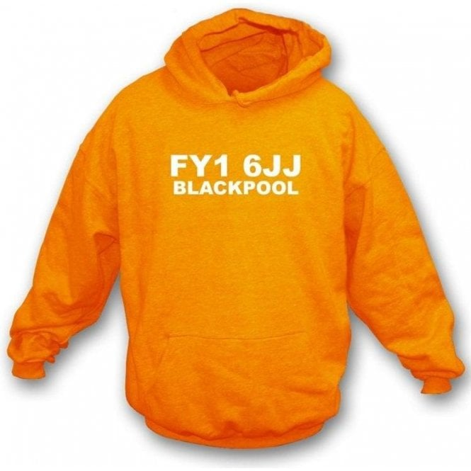FY1 6JJ Blackpool Hooded Sweatshirt (Blackpool)