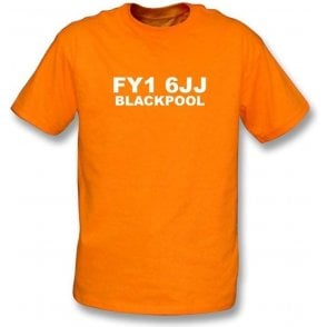 FY1 6JJ Blackpool T-Shirt (Blackpool)