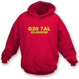 G20 7AL Glasgow Hooded Sweatshirt (Partick)