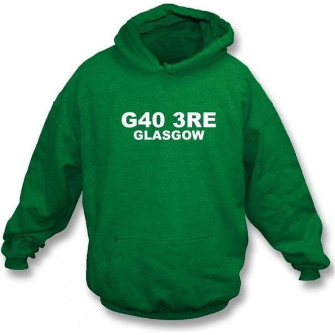 G40 3RE Glasgow Hooded Sweatshirt (Celtic)