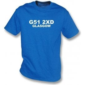 G51 2XD Glasgow Kids T-Shirt (Rangers)