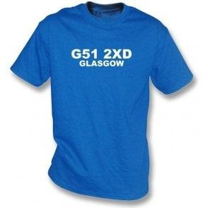 G51 2XD Glasgow T-Shirt (Rangers)