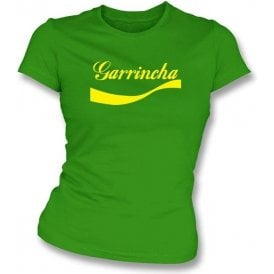 Garrincha (Brazil) Enjoy-Style Women's Slim Fit T-shirt
