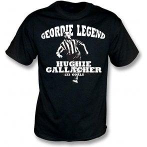 Geordie Legend Hughie Gallacher t-shirt