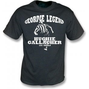 Geordie Legend Hughie Gallacher vintage wash t-shirt