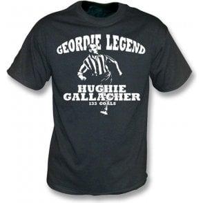 Geordie Legend Hughie Gallacher vintage wash t-shirt