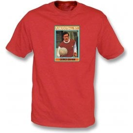 George Graham 1971 (Arsenal) Red T-Shirt