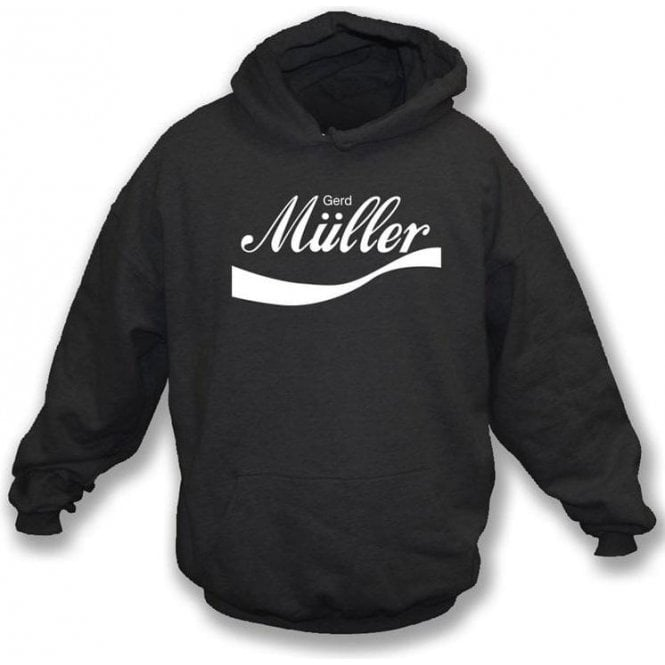 Gerd Muller (Germany) Enjoy-Style Hooded Sweatshirt