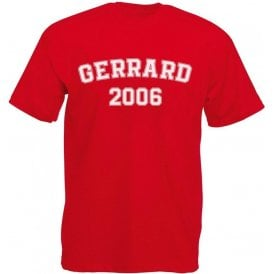 Gerrard 2006 (Liverpool) Kids T-Shirt