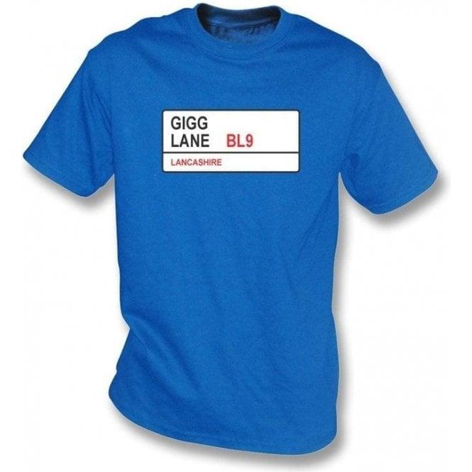 Gigg Lane BL9 T-Shirt (Bury)