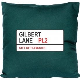 Gilbert Lane PL2 (Plymouth Argyle) Cushion
