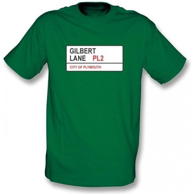 Gilbert Lane PL2 T-Shirt (Plymouth Argyle)