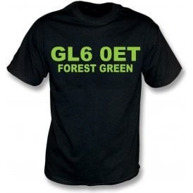 GL6 0ET Forest Green Kids T-Shirt