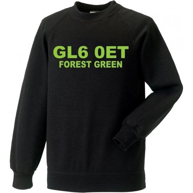 GL6 0ET Forest Green Sweatshirt