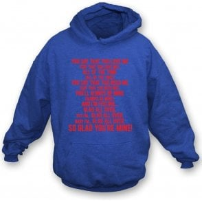 Glad All Over (Crystal Palace) Hooded Sweatshirt