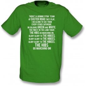 Glory Glory To The Hibees (Hibernian) Kids T-Shirt