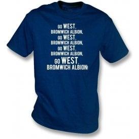 Go West Bromwich Albion T-Shirt