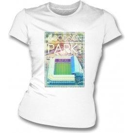 Goodison Park L4 4EL (Everton) Women's Slimfit T-Shirt