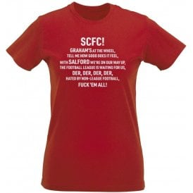 Graham's At The Wheel (Salford City) Womens Slim Fit T-Shirt