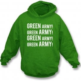 Green Army! (Plymouth Argyle) Hooded Sweatshirt