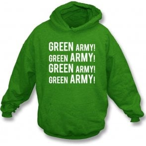 Green Army! (Plymouth Argyle) Kids Hooded Sweatshirt