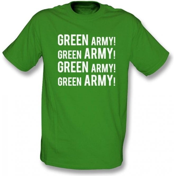 Green Army! (Plymouth Argyle) T-Shirt