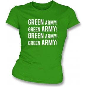 Green Army! (Plymouth Argyle) Womens Slim Fit T-Shirt