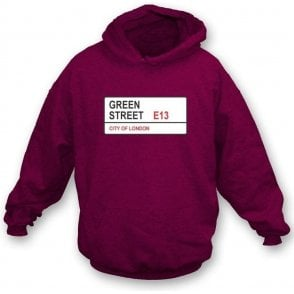 Green Street E13 Hooded Sweatshirt (West Ham)