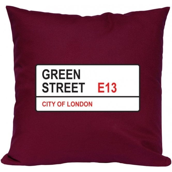 Green Street E13 (West Ham) Cushion