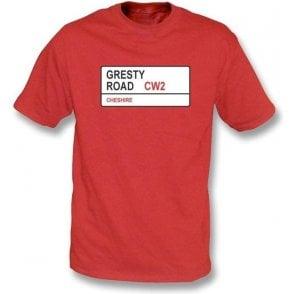 Gresty Road CW2 T-Shirt (Crewe Alexandra)